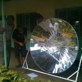 2012 Solarkocher für Tansania